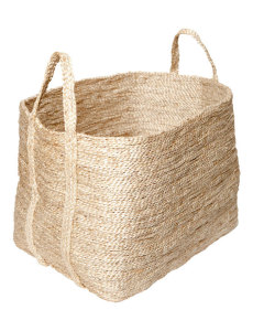 Large Natural Jute Basket from Twine Home Store