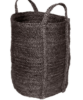 Charcoal Jute Laundry Basket from Twine Home Store