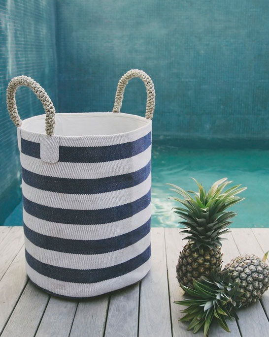 Pacific Collectio Laundry Basket from Twine Home Store