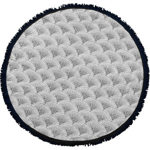 Amaroo Round Towel from Twine Home Store