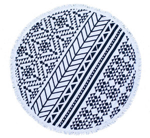 Aztec Round Towel from Twine Home Store
