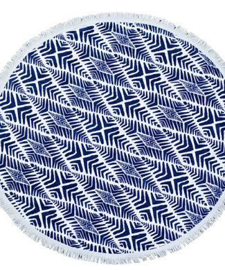 Paradis Round Towel from Twine Home Store