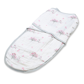 Aden+Anais Easy Swaddle For the Owls-Birds