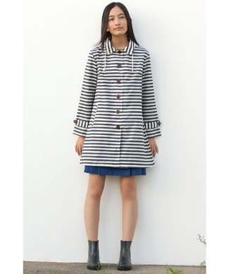 raincoat striped